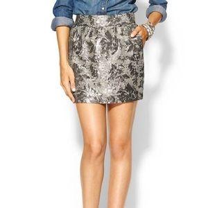 Piperlime Tinley Road Brocade Circle Mini Skirt